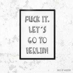 Let´s go to Berlin