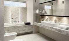 Live House is an Importer and Retailer of European Tiles and Timber Flooring. Shabby Chic Shelves, House Tiles, White Vanity, Modern Bathroom Decor, Bathroom Ideas, Timber Flooring, Colorful Interiors, Bathtub, Houses