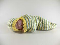 Cocoon, Sleep Sack, Sleep Bag, Wrap, Blanket in Yellow, Green, & White $25 USD  www.HeavenBoundHCA.com
