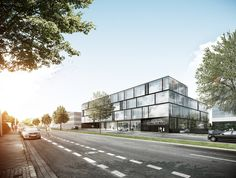Saint Gobain Krefelderstrasse Aachen kadawittfeldarchitektur 2012 #office http://rdt.ac/e762