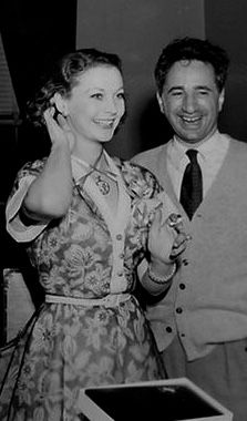 """So pretty at 38 years old.  I like to imagine Scarlett O' Hara would look the same.  With Elia Kazan. A Streetcar Named Desire. Without her blonde wig & Blanche makeup.  Pity that they found it necessary to """"age"""" Vivien to play Blanche.  I guess she was  too beautiful to be seen as worn out & past her prime.  It would have been awesome if Vivien had just dyed her hair blonde & not been made to look older."""