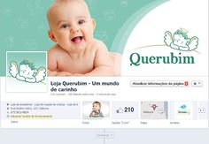 Facebook da loja de artigos infantis Querubim em Itabuna-BA.