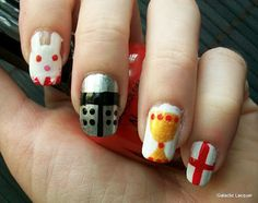 Inspired by a movie - Monty Python and the Holy Grail nails