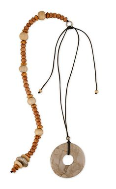 Classic Grey Posture Reminder Necklace Washer Necklace, Beads, Grey, Classic, Collections, Jewelry, Products, Fashion, Beading