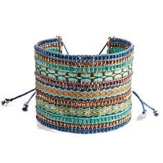 Bracelet Collage Blue Turquoise Big - Mishky - Brazilian Bikini Shop #brazilianbikinishop #BBSFashion #mishky