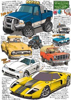 有野篤 タミヤ・フォードF-350ハイリフトとアメリカ・フォードの車たち http://sky.geocities.jp/punch_arino/