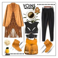 """""""YOINS.COM"""" by ilona-828 ❤ liked on Polyvore featuring Wild Diva, Fleet Ilya, Burberry and yoins"""