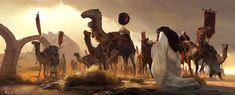 ArtStation - camel and baby, victor cloux