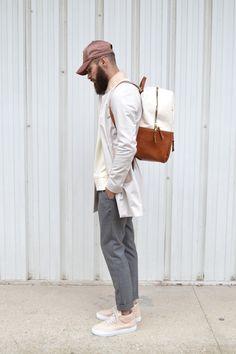 Acne studios cap Aimé Leon dore Backpack Filling Pieces x Ronnie Fieg sneakers