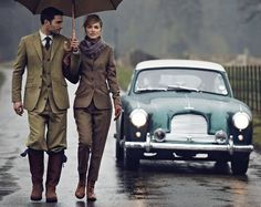 via the Really Wild Clothing Company, known for its modern country styling and luxury tailoring