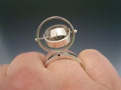 Satellite Ring #4 by Danielle Miller Jewelry, via Flickr