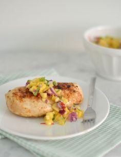 Fast & Fresh: Gegrilde kip met Mangosalsa -