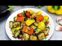 (170) Ofengebackene Gemüsevorspeise! Lecker und ganz einfach! - YouTube