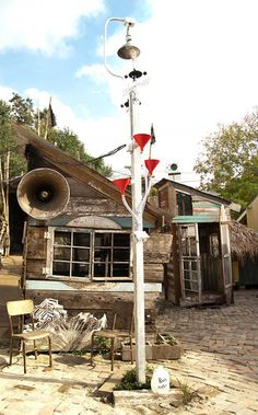 1 | A Mesmerizing Shantytown Where The Shacks Double As Musical Instruments | Co.Design: business + innovation + design