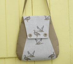 Caistor Courier Bag – PDF Sewing Pattern