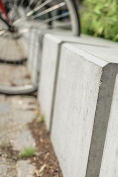 Cykelstativer i beton