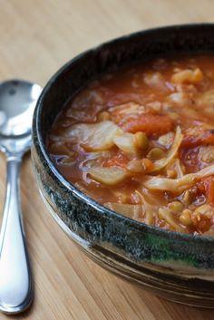 Health Boosting Cabbage Lentil Soup