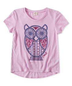 Look at this O'Neill Lilac Hoots Hi-Low Tee on #zulily today!
