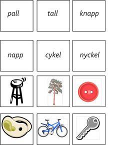 montessorimaterial - Learn Swedish, Swedish Language, Anton, Speech Therapy, Montessori, Education, Math, School, Infants