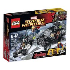 LEGO Super Heroes Avengers Hydra Showdown 76030 Set Toy Brand New in Box and Sealed Thor Hawkeye Marvel Comic Book by entertainmentplace on Etsy The Avengers, Offroader, Lego Marvel Super Heroes, Buy Lego, Epic Fail Pictures, Age Of Ultron, Lego City, Legos, Thor
