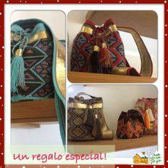 Wayuu #hand made# swarovskys #leather