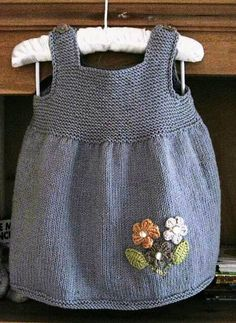Ravelry: Project Gallery for Smockie pattern by Sublime Yarns – Baby knitting patterns Baby Knitting Patterns, Knitting For Kids, Baby Patterns, Free Knitting, Crochet Patterns, Dress Patterns, Knit Baby Dress, Knitted Baby Clothes, Baby Cardigan