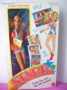 Starr dolls - I remember the books, telephone and musical instruments.  I thought they were cooler than Barbie because they were in a band :)