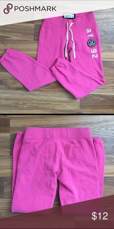 Abercrombie Sweats Pink Abercrombie sweats. Please feel free to ask any questions or make an offer, and as always THANK YOU for shopping my posh closet! Xoxo -Tish Abercrombie & Fitch Pants