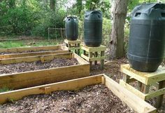 How to Make a Rain Barrel Watering System For Your Garden