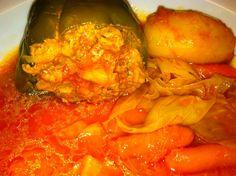 Stuffed Peppers ~ The Kitchen Kitten    #stuffedpeppers #peppers #hungarian #recipe #kitchenkitten