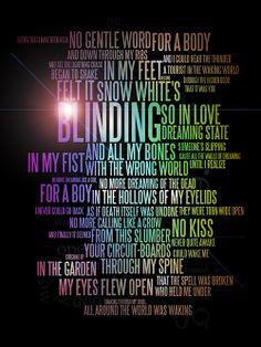 florence and the machine blinding lyrics