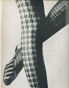 Patterned stockings! Pre-pantyhose days, I had a drawer full of these.