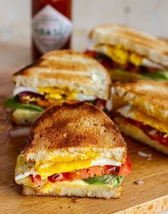 Sandwiches, Baby Food Recipes, Cooking Recipes, Healthy Recipes, Food Porn, Good Food, Yummy Food, Perfect Breakfast, Cata