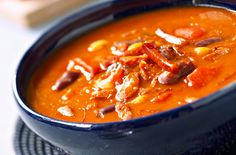 A simple Soup of haricots and chorizo recipe for you to cook a great meal for family or friends. Buy the ingredients for our Soup of haricots and chorizo recipe from Tesco today.
