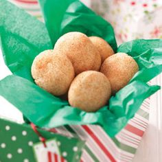 No will be able to resist this classic cinnamon-sugar-coated cookie.