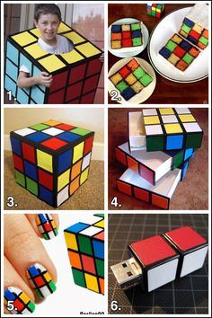 I'm Haley Pierson-Cox from The Zen of Making, and this is your weekly dose of geeky goodness!  I don't know any child of the 80s who didn't spend hours puzzling over a Rubik's Cube. So, in honor of countless lost hours and burned