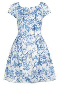 Primark SS13 China Print Dress