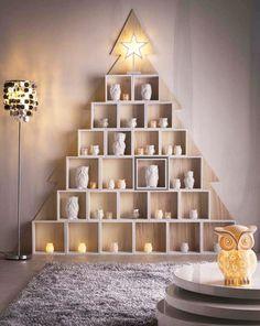Un sapin de Noël en bois, tendance et moderne à faire soi-même