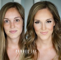Proof that contouring can make cheekbones magically appear.  #refinery29 http://www.refinery29.com/best-instagram-makeup-transformations#slide-1