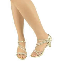 Gold dress shoes mid heel – Dress online uk