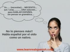 "HOW TO SPEAK SPANISH. – Let´s start from the very beginning. ""Learn Real Spanish"" started with the idea of sharing an original and effective method to learn how to speak Spanish in 6 months, without studying textbooks and grammar rules. Based on our own personal experience learning several languages, we are aware of how difficult is it to learn a language by studying an enormous amount of grammar rules. After years of attending... #communicateeffectively ..."