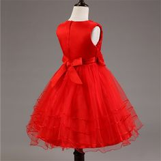 07c3f31ea5c2 party dress hong kong Picture - More Detailed Picture about Princess Summer  Baby Girl Dress Rose Flower Girl Dress For Wedding Party Beads Decoration  Kids ...