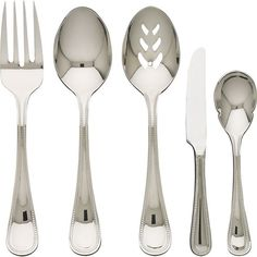 Grand Hotel II 5-Piece Serving Set in Serving Pieces and Sets | Crate and Barrel