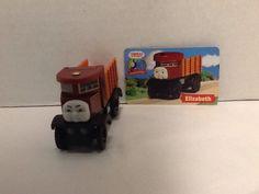 "Elizabeth ""Vintage"" Sentinal Lorry Thomas Character Card Wooden Railway 2003  #Gullane"