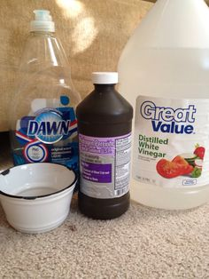 Another pinner said : How to Make DIY Carpet Spot Cleaner... I just used this on a spot where my puppy had an accident and omg it's a freakin miracle.