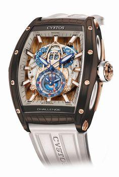 TimeZone : Industry News » Pre-Basel 2017 - Cvstos Sealiner GMT Brownsea L.E.