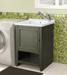 love this sink for the laundry room & Looks great but itu0027s home depot canada. . . SKU 1000735158 Simpli ...