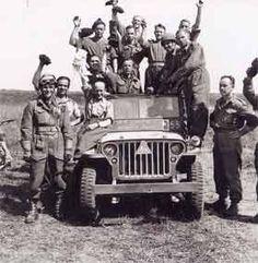 La 1ère division blindée polonaise.