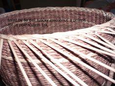 pletenie z papiera - Fotoalbum - Pletenie z papiera - návody - Jednoduchá uzávierka