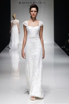 wedding dress | Emma Hunt